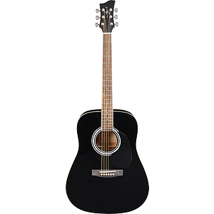 Jay Turser JJ45 Dreadnought Acoustic Guitar - Black