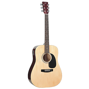 Jay Turser JJ45EQ Dreadnought Acoustic-Electric Guitar - Natural
