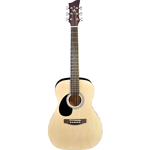 Jay Turser JJ45-LH Left-handed Dreadnought Acoustic Guitar - Natural