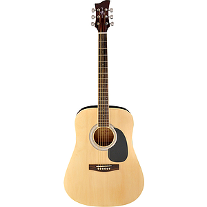 Jay Turser JJ45 Dreadnought Acoustic Guitar - Natural