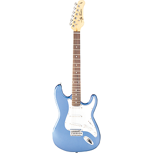 Jay Turser JT-300 Strat-style Electric Guitar - Metallic Blue