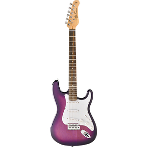 Jay Turser JT-300 Strat-style Electric Guitar - Purple Sunburst