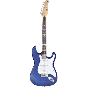 Jay Turser JT-300 Strat-style Electric Guitar - Transparent Blue