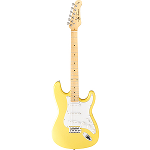 Jay Turser JT-300M Strat-style Electric Guitar - Ivory