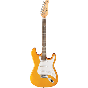Jay Turser JT-300M Strat-style Electric Guitar - Natural Honey