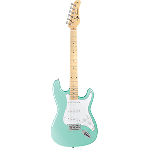 Jay Turser JT-300M Strat-style Electric Guitar - Sea Foam Green