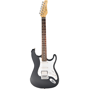 Jay Turser JT-301 Fat Strat-style Electric Guitar - Black