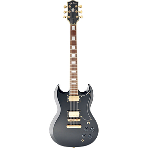 Jay Turser JT-50-CUSTOM SG-style Electric Guitar - Black