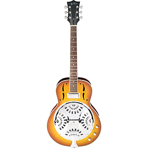 Jay Turser JT-900RES Acoustic-Electric Resonator Guitar - Tobacco Sunburst
