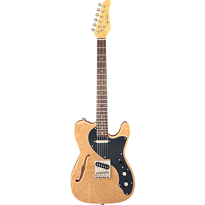 Jay Turser JT-LTCRUSDLX Electric Guitar - Natural