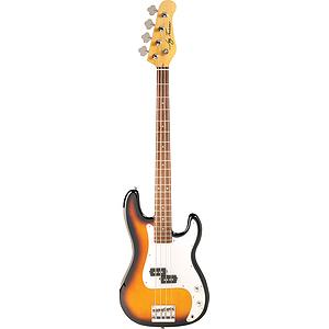 Jay Turser JTB-400C 4-string Bass Guitar - Tobacco Sunburst