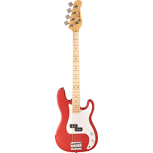 Jay Turser JTB-400M 4-string Bass Guitar - Candy Apple Red