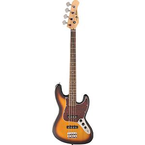 Jay Turser JTB-402 4-string Bass Guitar - Tobacco Sunburst