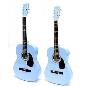 "Darling Divas 3/4-size (36"") Acoustic Guitar - Baby Blue"
