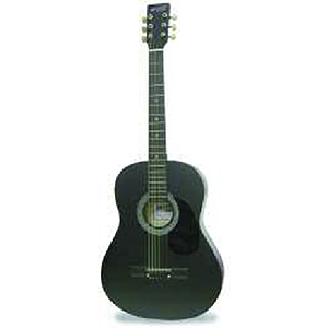 "Darling Divas 3/4-size (36"") Acoustic Guitar - Black"