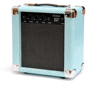 Darling Divas DD10 10-watt Guitar Amplifier - Shiny Blue