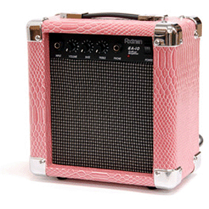 Darling Divas DD10 10-watt Guitar Amplifier - Shiny Pink