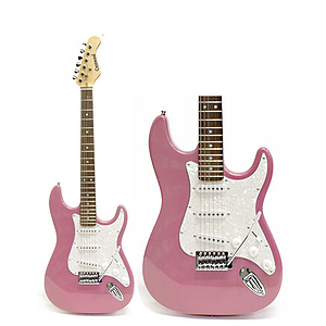 Darling Divas Electric Guitar Starter Pack - Bubble Gum Pink