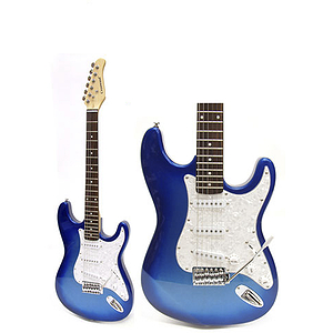 Darling Divas Electric Guitar Starter Pack - Mystical Blue