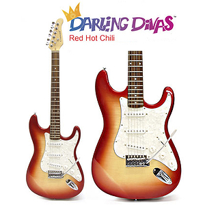 Darling Divas Electric Guitar Starter Pack - Red Hot Chili