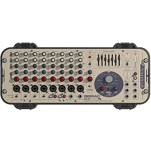 Soundcraft Gigrac 600 Professional 8-channel Powered Mixer - 2 x 300-watt
