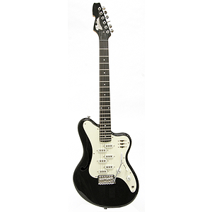 Italia Imola Electric Guitar - Black