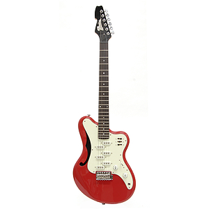 Italia Imola Electric Guitar - Red