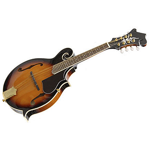 Crestwood M107 F-Style Mandolin - Tobacco Sunburst
