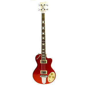 Italia Maranello Bass 4-string Bass Guitar - Red