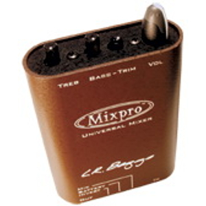 L.R. Baggs MIXPRO Acoustic Guitar Preamp w/mini-mixer
