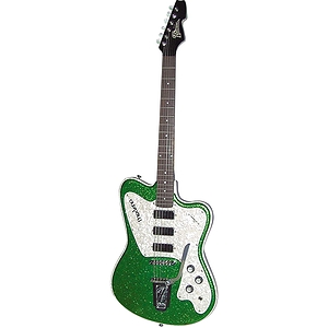 Italia Modena Classic Electric Guitar - Green