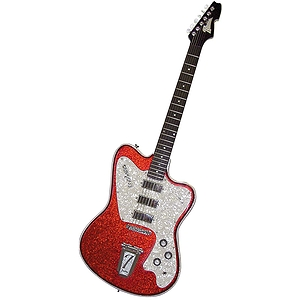 Italia Modena Classic Electric Guitar - Red