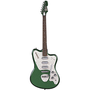 Italia Modena Standard Electric Guitar - Green