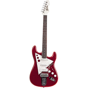 Italia Modulo T3 Left-handed Electric Guitar - Red