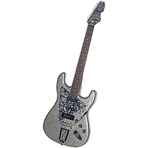 Italia Modulo T3 Electric Guitar - Silver