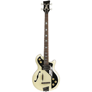 Italia Mondial Bass 4-string Bass Guitar - Cream