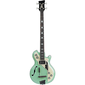 Italia Mondial Bass 4-string Bass Guitar - Green