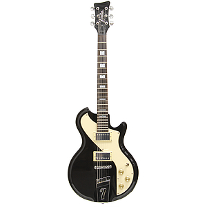 Italia Mondial Sportster Electric Guitar - Black