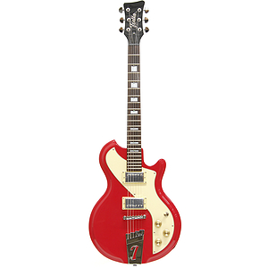 Italia Mondial Sportster Electric Guitar - Red