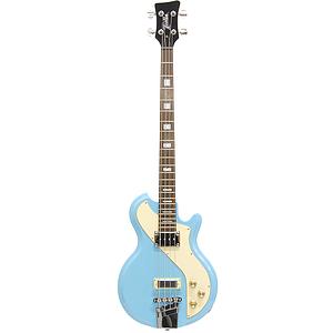 Italia Mondial Sportster Bass 4-string Bass Guitar - Blue