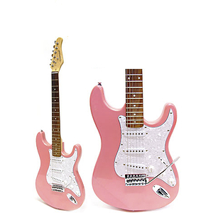 Darling Divas Electric Guitar - Pink Opal