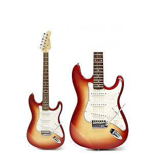 Darling Divas Electric Guitar - Red Hot Chili