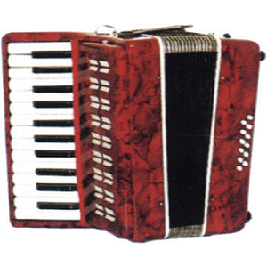Parrot 25-key Piano-style Accordion