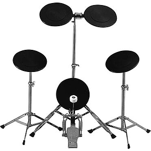 TKO PS1 Free-standing 5-piece Practice Pad Set