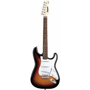 Fender Starcaster Stratocaster Electric Guitar - Sunburst