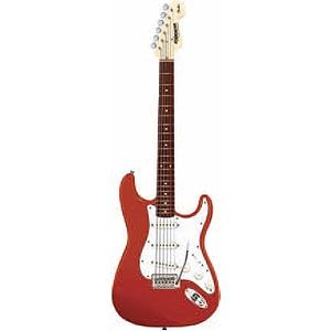 Fender Starcaster Stratocaster Electric Guitar - Red