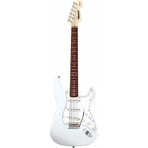 Fender Starcaster Stratocaster Electric Guitar - White