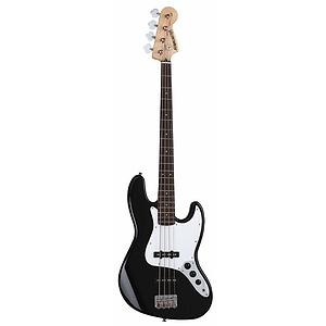 Fender Starcaster Jazz Bass Guitar - Black