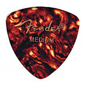 Fender® #346 Triangular Shell Picks - 72 Extra Heavy Picks