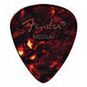 Fender® #451 Junior Shell Pick - 72 Medium Picks